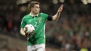 Seamus Coleman succeeded Robbie Keane as Ireland captain last September