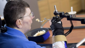 Bill Kochevar was paralysed eight years ago (Pic: Case Western Reserve University)