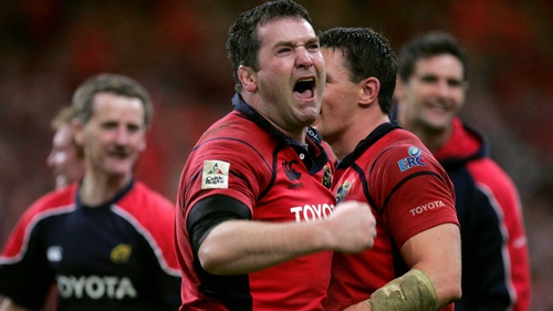 The late Anthony Foley