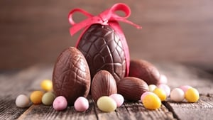 We eat over 17.7 million chocolate eggs over Easter