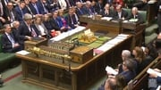 Theresa May is answering Prime Minister's Questions in the House of Commons