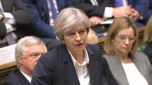 Theresa May told MPs that 'we are going to make our own decisions and our own laws'