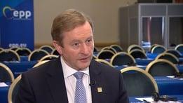 Taoiseach Enda Kenny Brexit Interview