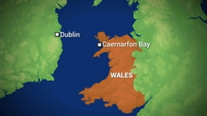 The search operation is in the Caernarfon Bay area of North Wales