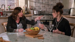 Chas (Lucy Pargeter) has some harsh words for her mother Faith (Sally Dexter)