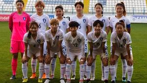 South Korea's women's team