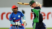 Ireland are struggling against Afghanistan