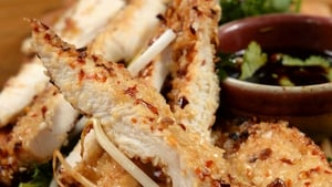 Kevin Dundon's Sesame crusted chicken: Today