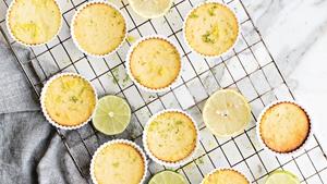 Lemon and Lime Mini Cheesecakes