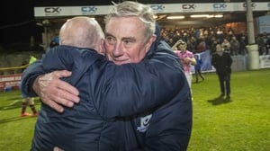 Pete Mahon steered Drogheda back to the top flight