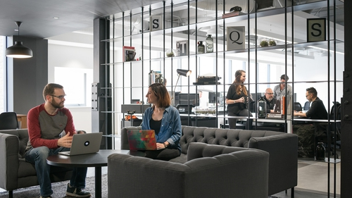 Squarespace's new office in Dublin has capacity for 300