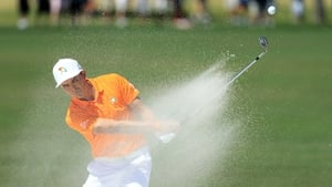 Rickie Fowler shot a four over par first round in Memphis