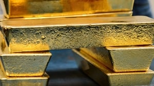 Gold's gains have been driven by a tariff war between the world's two largest economies and quantitative easing by major central banks