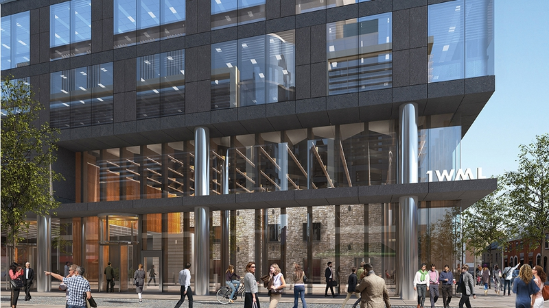 dublin office space. Roland O\u0027Connell, Chairman Of Savills, Tells Adam Maguire A Total 120 Dublin Office Space