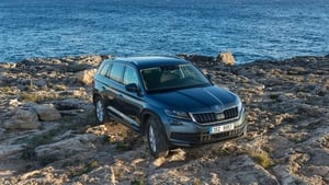 Skoda's new Kodiaq offers lots of practicality. It's also available with seven seats.