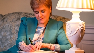 Nicola Sturgeon says the people of Scotland have the right to choose their own future