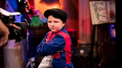 Fionn Molloy stole the show at the Late Late Toy Show