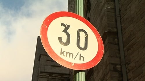 Dublin City Council is proposing an expansion of the 30km/h speed limit in 12 zones on the southside of Dublin, and 19 on the northside