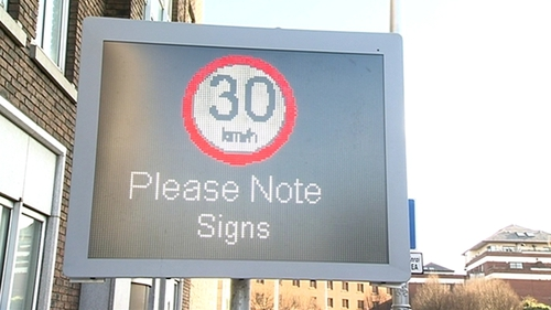 Dublin City Council says new speed limits will save lives