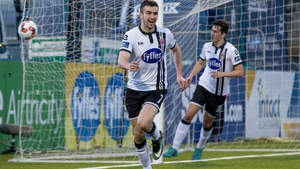 Michael Duffy scored Dundalk's second