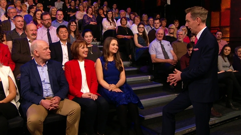 The Late Late Show: Shalvey Family