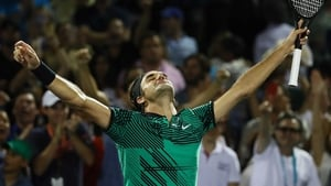 Roger Federer has lost just once this year