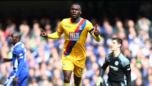 Christian Benteke puts Palace ahead in the first half