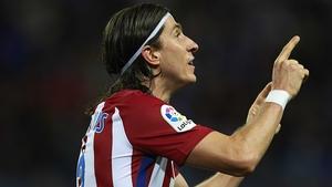 Felipe Luis wrapped up Atletico Madrid's win at Malaga