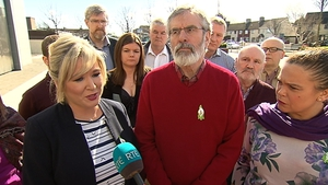 Michelle O'Neill said Sinn Féin is fully committed to making the NI institutions work