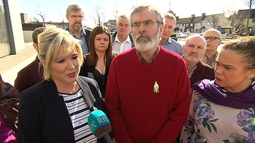 Michelle O'Neillsaid Sinn Féin is fully committed to making the NI institutions work
