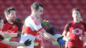 Carlus McWilliams' match-winning point couldn't save Derry from relegation