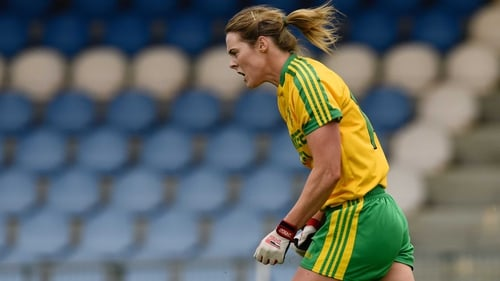 Yvonne McMonagle scored 2-04 for Donegal against champions Cork
