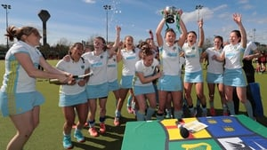 UCD celebrate their cup success at Belfield