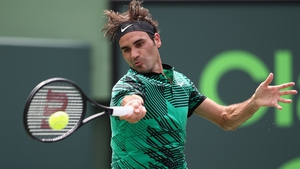 Federer denied Nadal a first title in Miami