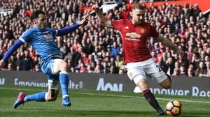 Luke Shaw has come in for some harsh criticism from Jose Mourinho
