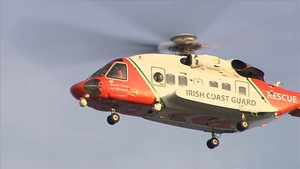 The Sligo-based coast guard was assisted by the Dublin-based R116 helicopter