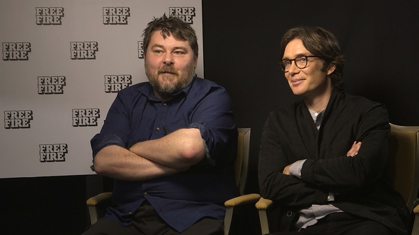 Free Fire director Ben Wheatley and star Cillian Murphy - It was