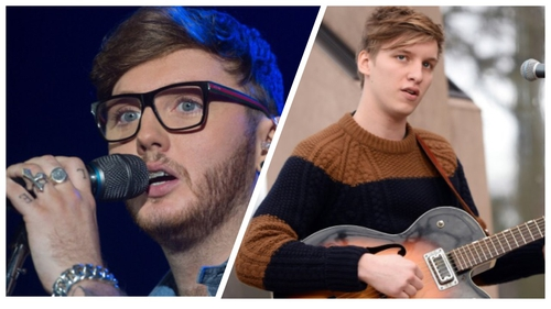 James Arthur and George Ezra both announced upcoming Irish gigs today