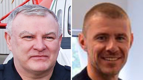 Winch operator Paul Ormsby and winchman Ciarán Smith are still missing