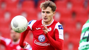 Kieran Sadlier equlised for Sligo shortly before half-time