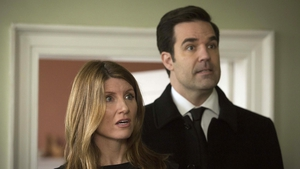 Sharon Horgan and Rob Delaney in the season finale of Catastrophe