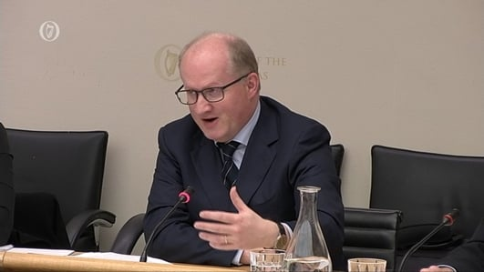 Governor of Central Bank at Oireachtas Committee