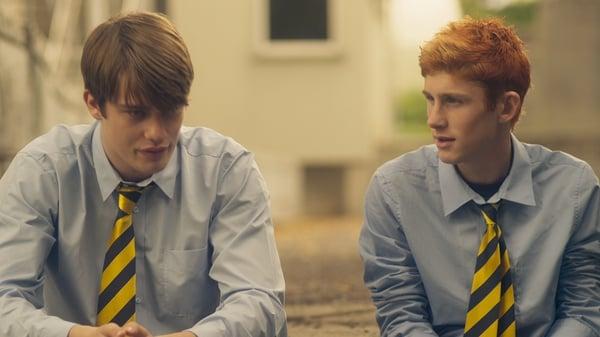 A great screen partnership - Nicholas Galitzine and Fionn O'Shea as Conor and Ned