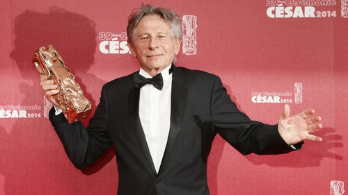 Roman Polanski pictured the last time he won a César