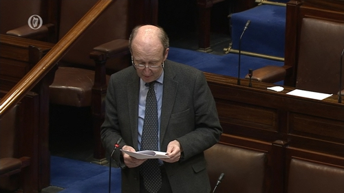 Shane Ross initially voted against his own Road Traffic Bill