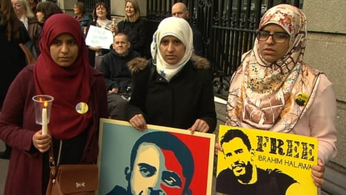 Ibrahim Halawa's sisters want their brother released