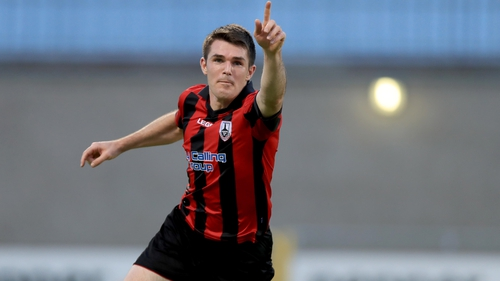 David O'Sullivan scored a hat-trick for Longford Town in their 4-3 win away to Athlone Town