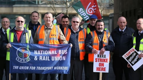 The strike will continue while talks are under way