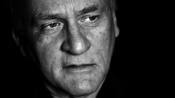 Paul Durcan - his poems showus 'our familiar everyday places and people, in all their sad, funny, lovable ways'.