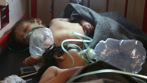 Trump on Assad: 'Something should happen' after chemical attack